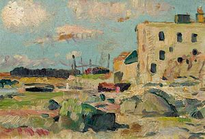 Leslie Hunter - The Beach Largo at Low Tide.jpg