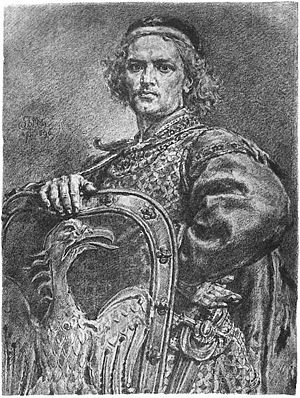 Leszek the White - 19th century portrait by Jan Matejko.