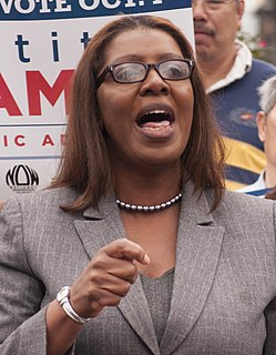 Letitia James American lawyer and politician