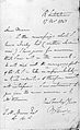 Letter from Faraday to Morson, 1843 Wellcome L0026387.jpg