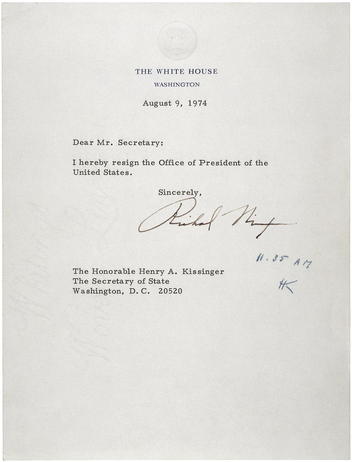 Letter Of Resignation Wikipedia