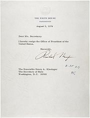 180px Letter of Resignation of Richard M Nixon2C 1974