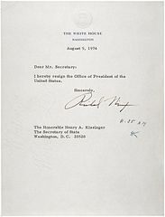 File:Letter of Resignation of Richard M. Nixon, 1974.jpg - Wikimedia ...