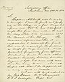 Letter signed W.T. Sherman, Subsistence Office, Saint Louis, Mo., to Major General George Gibson, Washington, October 1, 1850.jpg