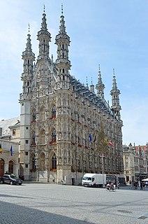 Leuven Town Hall city hall of Leuven, Belgium