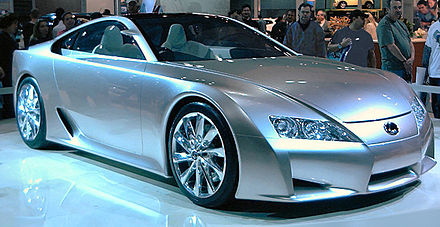 The First Lexus LF A Concept