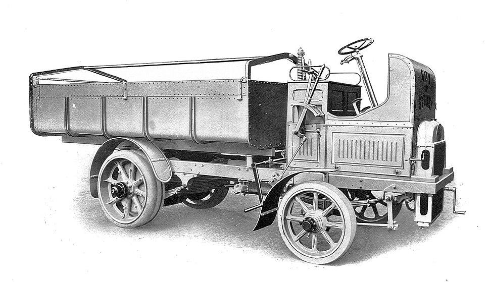 Leyland petrol road waggon (Rankin Kennedy, Modern Engines, Vol V)