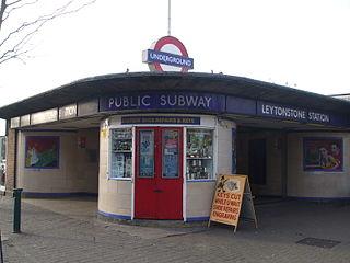 Leytonstone tube station London Underground station