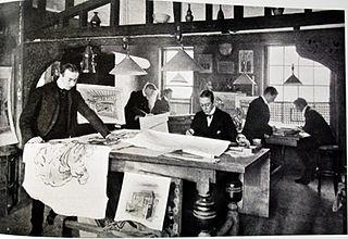 British painter, interior designer and furniture designer