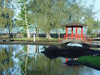 Japanese in Hawaii - Liliuokalani Park and Gardens, built in the early 1900s