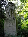 Lille le Jardin Vauban stèle à Albert Samain (1).jpg