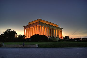 Lincoln Memorial, finalista en WLM-USA, 2012.
