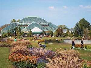 Lincoln Park Conservatory - Lincoln Park Conservatory and the Great Garden