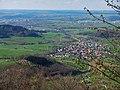 Links liegt Schwäbisch Gmünd - unten rechts ist Weiler in den Bergen - panoramio.jpg
