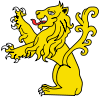 Lion Sejant Erect.svg