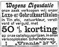 Liquidatieverkoop Urania, Limburger Koerier, 1910.jpg