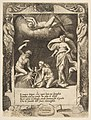 Litigium removed from the body of Chaos while his mother is thrown into the air, set within a frame, from the 'Loves, Rages and Jealousies of Juno' MET DP812650.jpg