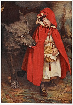 Little Red Riding Hood - J. W. Smith 1911