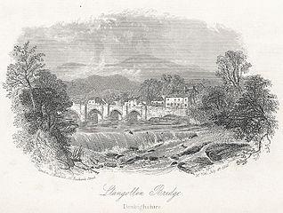 Llangollen Bridge: Denbighshire