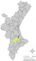 Localització de Quatretonda respecte del País Valencià.png