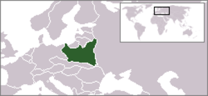 Provisional Government of the Republic of Poland - Location of Poland during WWII.