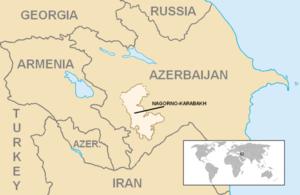 Nagorno-Karabakh Autonomous Oblast - Image: Location Nagorno Karabakh 2