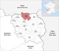 Locator map of Kanton Bonnat 2019.png