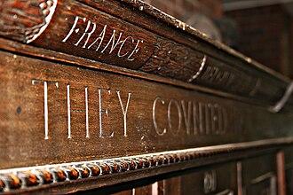 John Hampden Grammar School - Image: Lockers