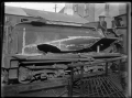 Locomotive damaged in an accident at Allanton, photographed at Hillside Railway Workshops, 1926 ATLIB 311882.png