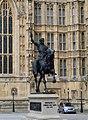 London Parliament Richard I Of England 07052004 - panoramio.jpg
