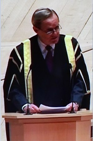 Charles Wellesley, 9th Duke of Wellington - Wellington as the Chairman of the Council of King's College London at the Royal Festival Hall, London, in 2009.