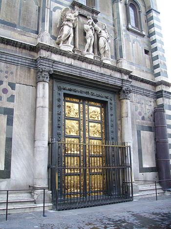 English: The Gates of Paradise by Lorenzo Ghib...