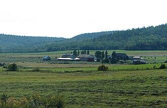 Lorrainville, Quebec - Countryside outside Lorrainville