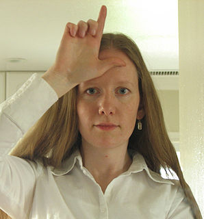 Loser (hand gesture) Hand gesture used as a taunt