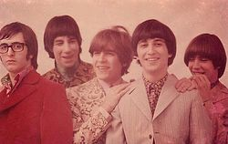 Los Gatos in 1968. Left to right: Kay Galifi, Oscar Moro, Litto Nebbia, Ciro Fogliatta and Alfredo Toth.