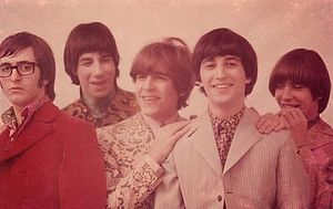 Los Gatos (band) - Los Gatos in 1968. Left to right: Kay Galifi, Oscar Moro, Litto Nebbia, Ciro Fogliatta and Alfredo Toth.
