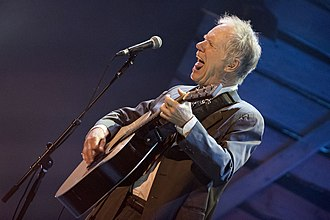 Loudon Wainwright III - Loudon Wainwright at BBC Radio 2 Folk Awards in 2015, at which he and Yusuf Islam/Cat Stevens both received a 'lifetime achievement award'.