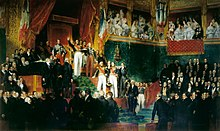 King Louis-Philippe I taking the oath to keep the Charter of 1830 on 9 August 1830 (Source: Wikimedia)
