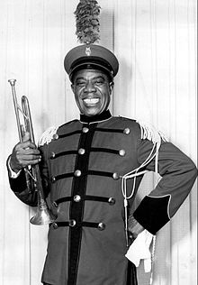 Louis Armstrong Wonderful World Coloring Page