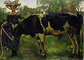 Lovis Corinth Mädchen mit Stier 1902.jpg