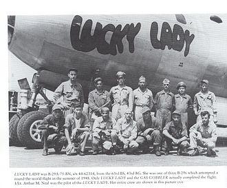 Lucky Lady II - Lucky Lady I crew members