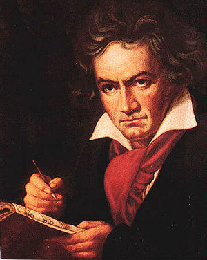 Ludwig van Beethoven in 1820