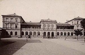 Hessian Ludwig Railway - Station of Hessian Ludwig Railway in Darmstadt