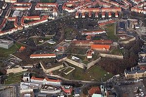 Coercion castle - Image: Luftbild
