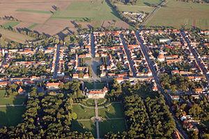 Oranienbaum, Germany - Oranienbaum Aerial view