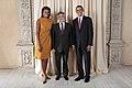 Luis Amado with Obamas.jpg