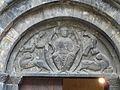 Luz-Saint-Sauveur église Templiers portail tympan.JPG