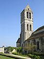 Luzarches - Église Saint-Côme-Saint-Damien - Clocher 01.jpg