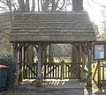 Lychgate at St Nicholas Church, Worth, Crawley (IoE Code 363410).jpg