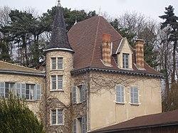 Le château de La Combe.